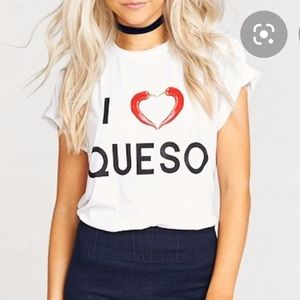 Show Me Your Mumu Oliver Queso Tee